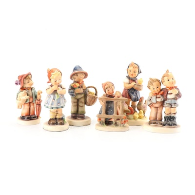 "Goebel Hummel ""Lucky Boy"" Limited Edition and Other Porcelain Figurines"
