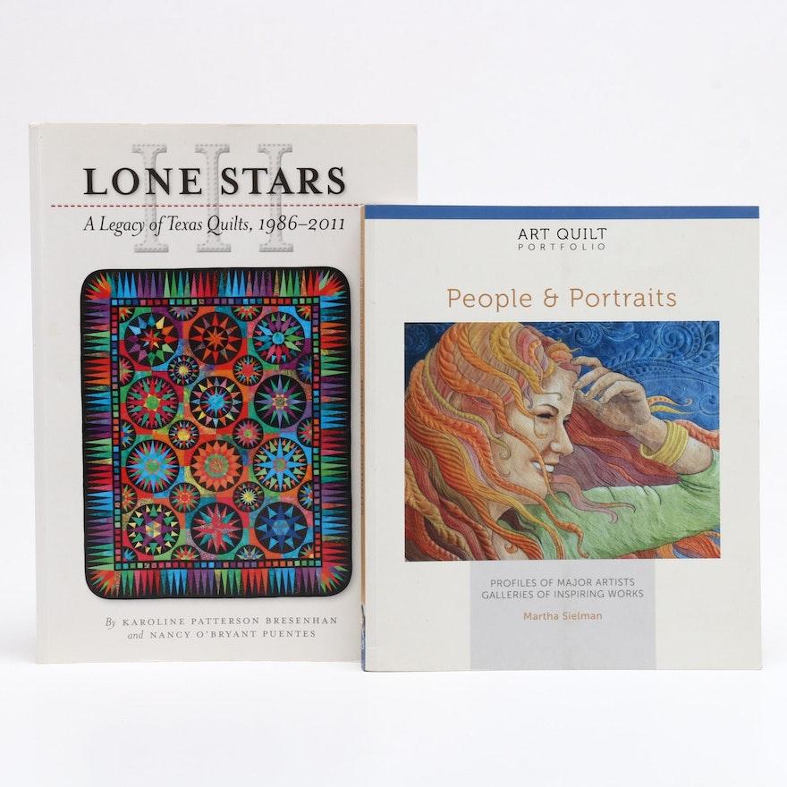 Portrait Quilts and Texas Art Quilt Books