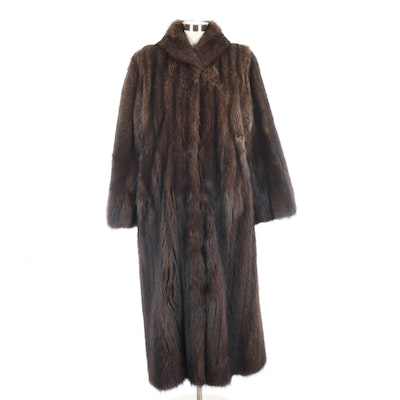 Fisher Fur Full-Length Coat from Hercules of Montreal, Vintage