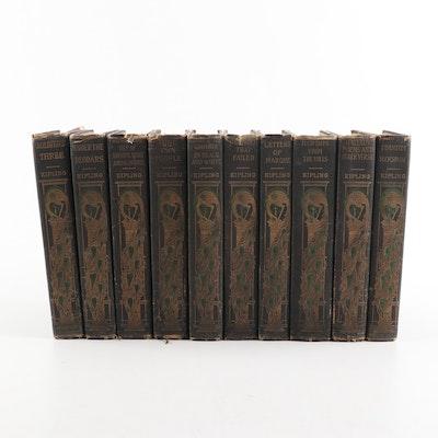 1899 Rudyard Kipling Collected Works
