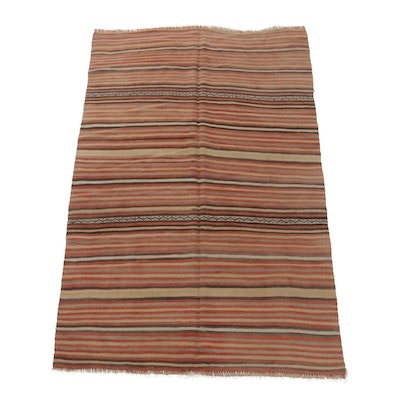 Handwoven Indo-Turkish Kilim Rug