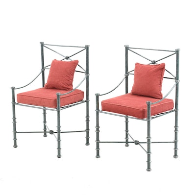 Federal Style Metal Patio Chairs