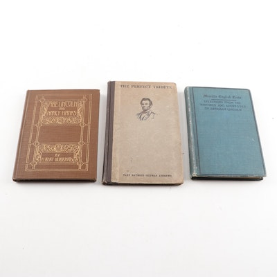 Vintage and Antique Abraham Lincoln Books