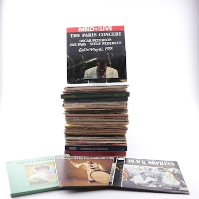 Classical Records Featuring Pavarotti, Leontyne Price, Soundtracks, Box Sets