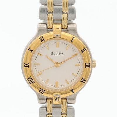 Bulova Two Tone Quartz Wristwatch