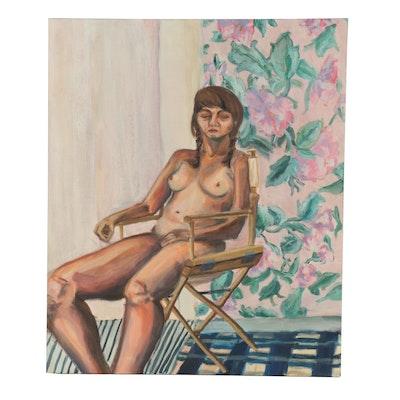 Kieran Rae Koch Figure Study Oil Painting, 2014