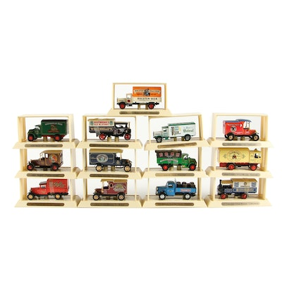 "Matchbox Collectibles ""Models of Yesteryear"" Diecast Beer Delivery Trucks"