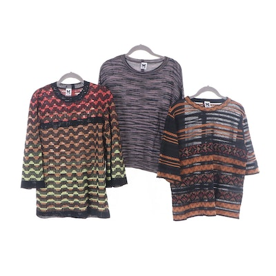 Missoni Cotton Blend Knit Sweaters