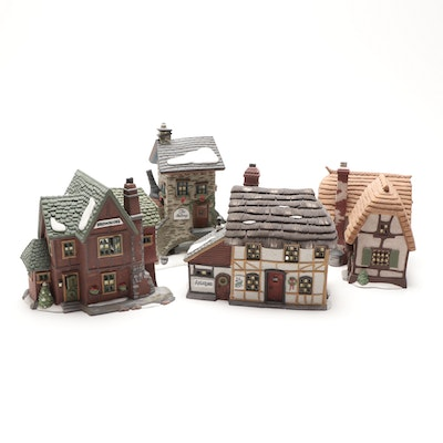 """Department 56 """"Heritage Village Collection"""" Including """"Browning Cottage"""""""