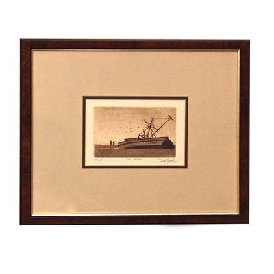 """Engraving """"The Wreck"""""""