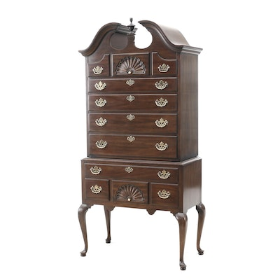 Drexel Mahogany Queen Anne Style Highboy