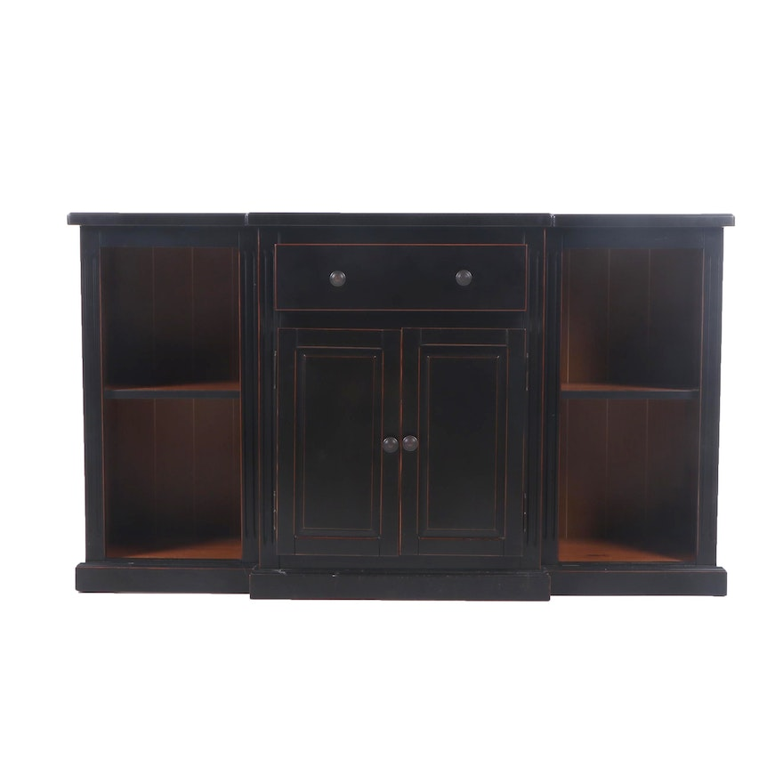 Pier 1 Imports Painted Wood Console, Contemporary