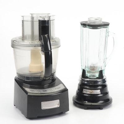 Cuisinart Food Processor and Waring Pro Blender