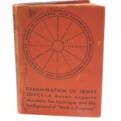 "1929 Limited Edition ""An Exagmination of James Joyce"""
