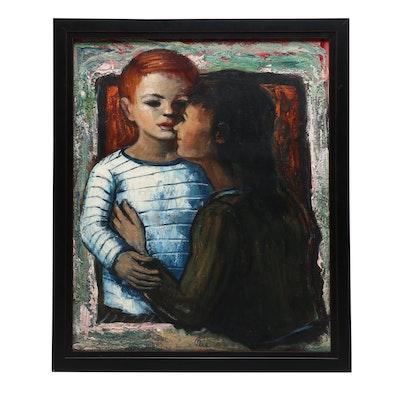 Albert Pels Oil Painting of Children