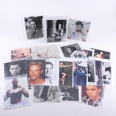 Robert Downey Jr, James Stewart and Other Celebrity Signed Photographs