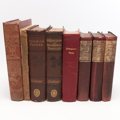 British Classics by Dickens, Shakespeare and Combe