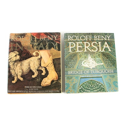 "Roloff Beny Photography Books including ""Persia: Bridge of Turquoise"""