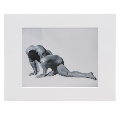 "Publisher Copy Digital Photograph after Herb Ritts ""Male Nude, Horizontal"", 1987"