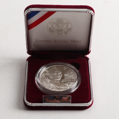 1999 Dolly Madison Commemorative Silver Proof Dollar