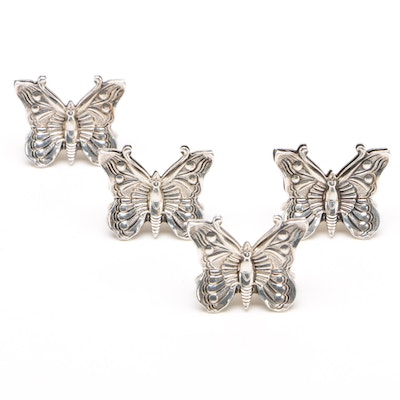 Tiffany & Co. Sterling Silver Butterfly Place Card Holders