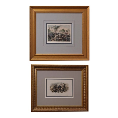 Hand Colored Engravings