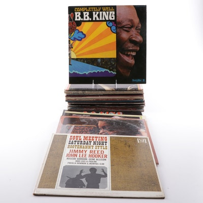 Blues Records Featuring B.B. King, Bessie Smith, Odetta, More