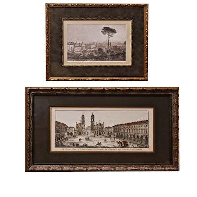 Antique Italian Etchings
