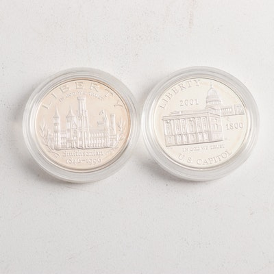Symbols of Freedom .900 Silver Proof Coins