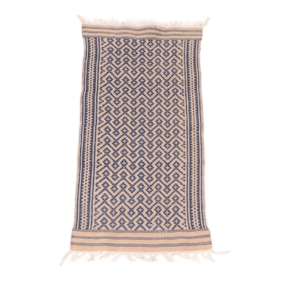 Handwoven Indo-Turkish Wool Accent Rug