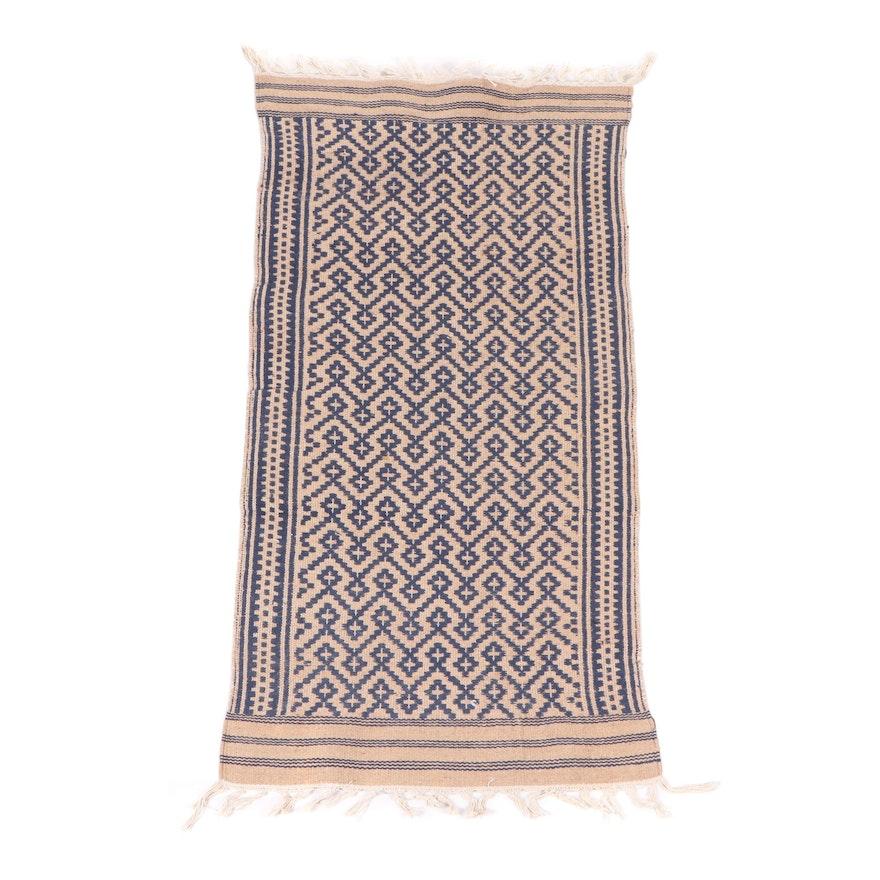 Handwoven Indo-Turkish Wool Accent Rug