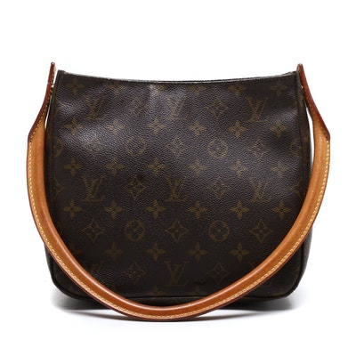 Louis Vuitton Monogram Canvas Looping Shoulder Bag