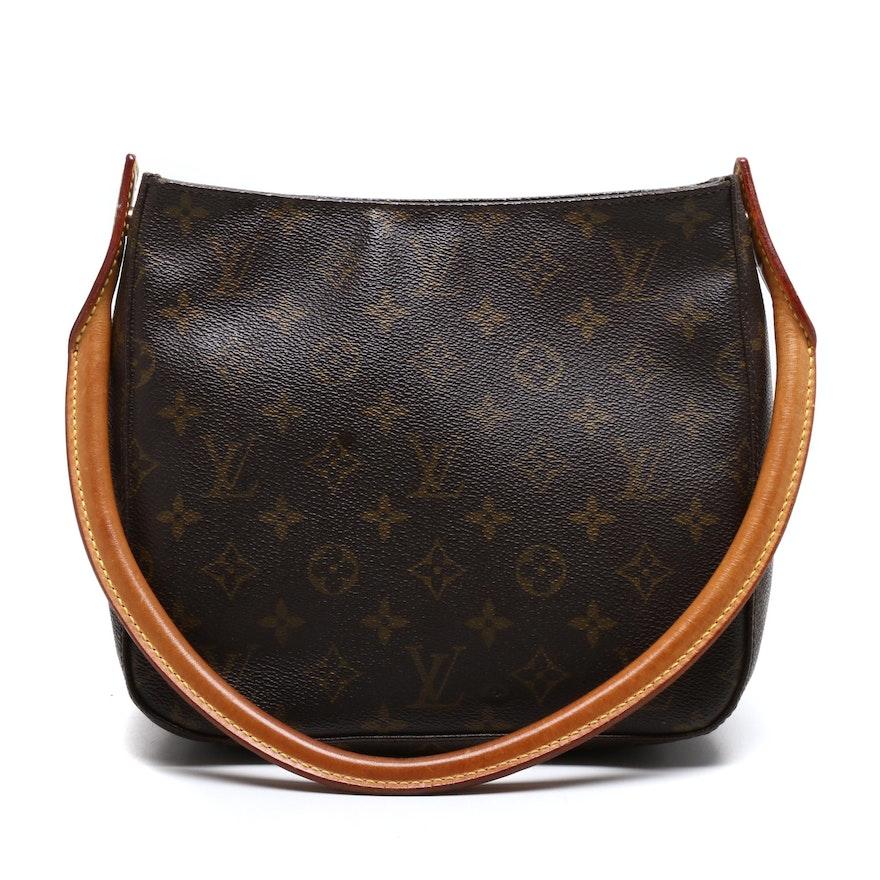 Louis Vuitton Monogram Canvas Looping Shoulder Bag