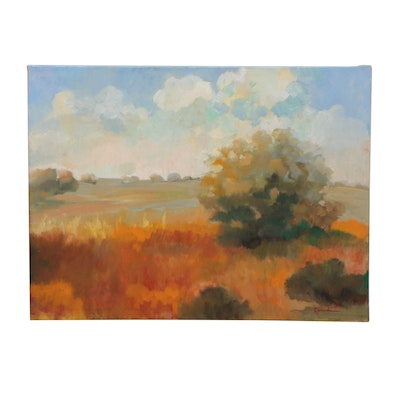 Sally Rosenbaum Landscape Oil Painting