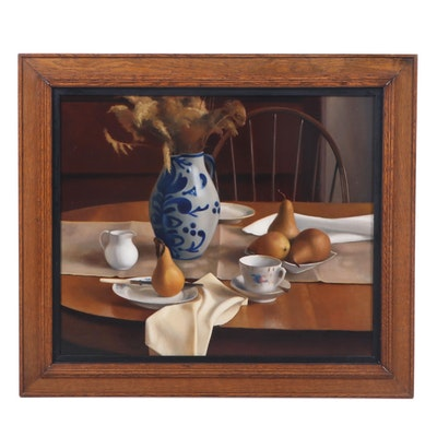 Kate Gridley Still Life Oil Painting