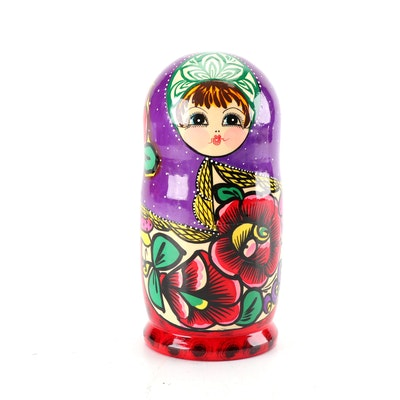 Hand-Painted Russian Style Matryoshka doll