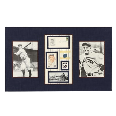 Collage of Lou Gehrig Prints
