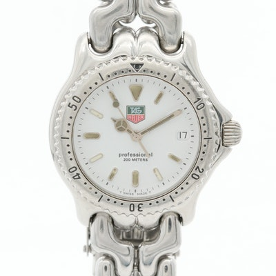 TAG Heuer S/EL Stainless Steel Quartz Wristwatch