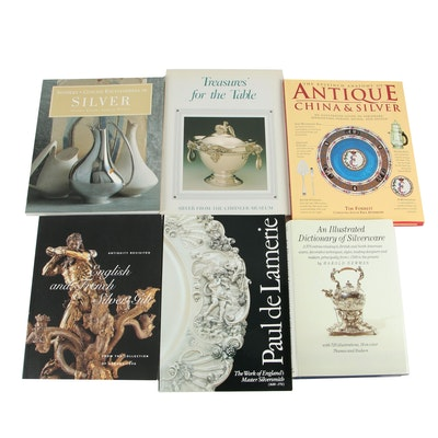"Silver Reference Books including ""An Illustrated Dictionary of Silverware"""