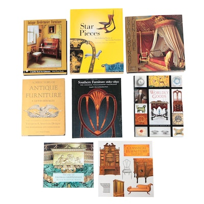 "Furniture Reference Books including ""Extraordinary Furniture"" by David Linley"