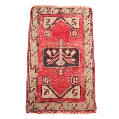 Hand-Knotted Kurdish Village Wool Rug