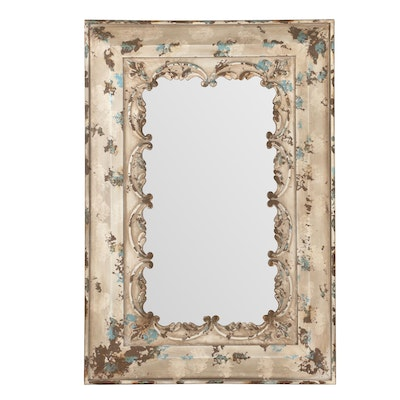 Pressed Tin Ceiling Tile Mirror