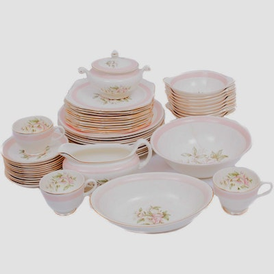 Homer Laughlin Eggshell Nautilus Collection Dinnerware, Mid 20th Century
