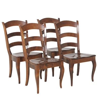 Nichols Stone Wooden Chair Set