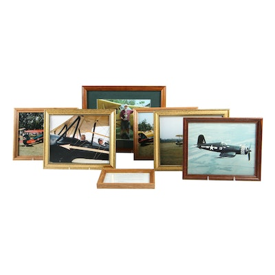 Photographs and Prints  of Vintage Airplanes