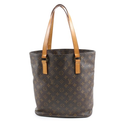 Louis Vuitton Paris Vavin GM Tote Bag in Monogram Canvas with Leather Handles
