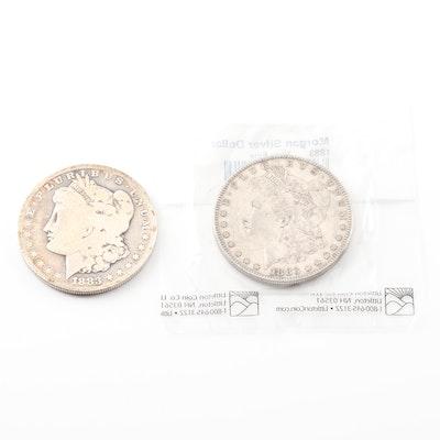 1883 and 1883-S Morgan Silver Dollars