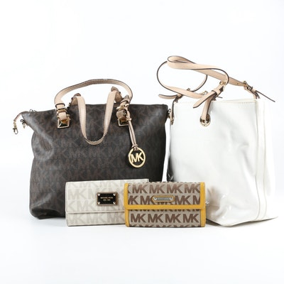 MICHAEL Michael Kors Jet Set and Grab Bag Totes with Wallets