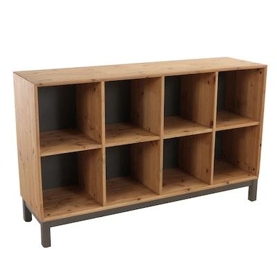 """IKEA, """"Nornäs"""" Pine Eight-Cube Bookcase"""