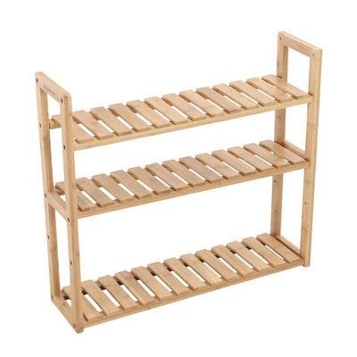 Songmics, Bamboo Three-Tier Hanging Shelf